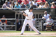 CHICAGO - AUGUST 31:  Adam Eaton #1 of the Chicago White Sox bats against the Detroit Tigers on August 31, 2014 at U.S. Cellular Field in Chicago, Illinois.  (Photo by Ron Vesely)