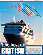 Page three of the Sunday Express, shot for Cunard.<br /> Picture date: Monday September 10, 2018.<br /> Photograph by Christopher Ison &copy;<br /> 07544044177<br /> chris@christopherison.com<br /> www.christopherison.com