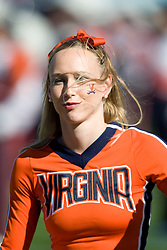 Virginia cheerleader.  The Texas Tech Red Raiders defeated the Virginia Cavaliers 31-28 in the 2008 Konica Menolta Gator Bowl held at the Jacksonville Municipal Stadium in Jacksonville, FL on January 1, 2008.