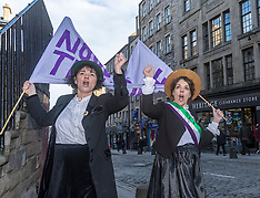 Scottish Suffragettes  | Edinburgh | 6 February 2018
