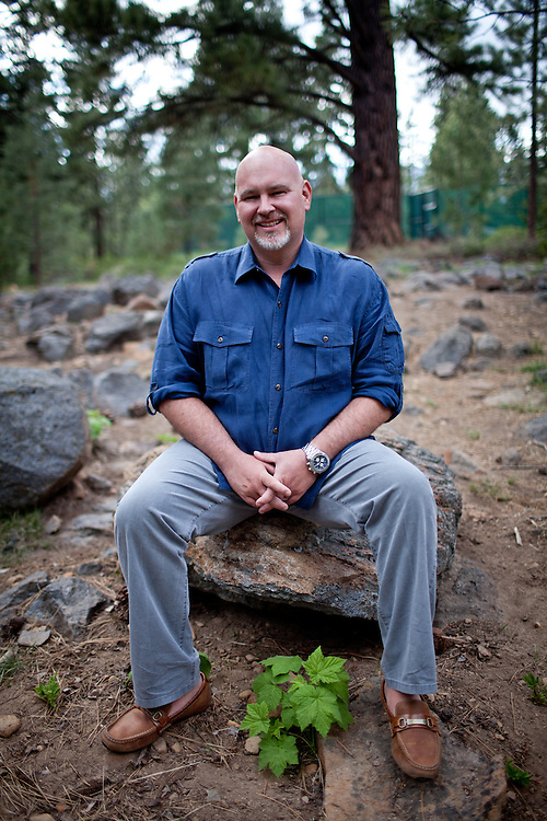 Former McCain strategist Steve Schmidt poses for a portrait in Incline Village, Nevada, May 23, 2012.