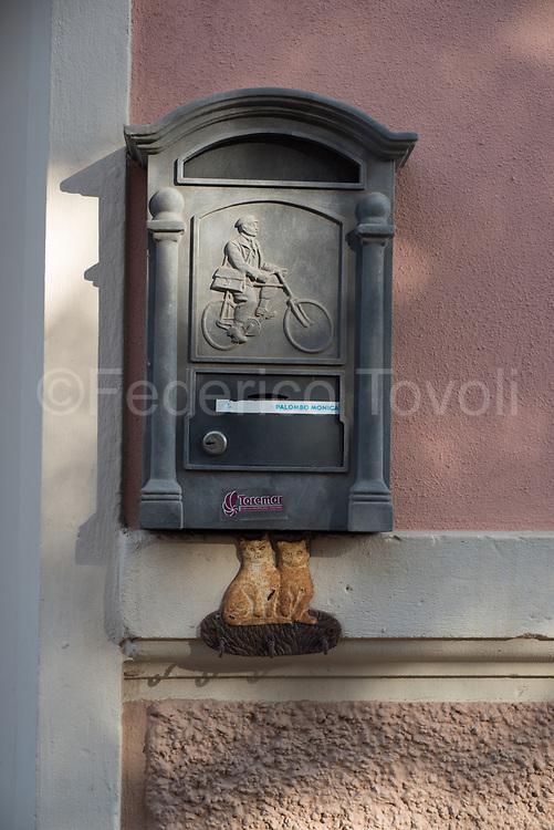 Portoferraio. A mailbox