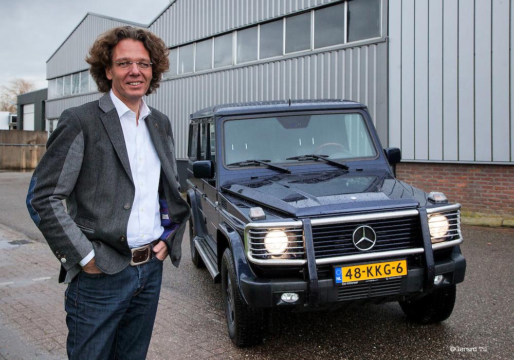 Nederland, Kamerik, 19-12-2013  Jos TJ van Dam van Techema (zakenauto FD)     FOTO: Gerard Til