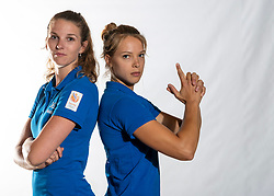02-07-2018 NED: EC Beach teams Netherlands, The Hague<br /> Jolien Sinnema, Laura Bloem