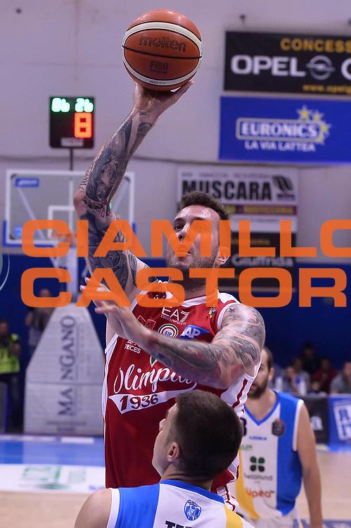 Raduljica Miroslav<br /> Betaland Capo D'Orlando - EA7 Emporio Armani Olimpia Milano<br /> Playoff Gara 4<br /> Lega Basket 2016/2017<br /> Capo D'Orlando 18/05/2017<br /> Foto Ciamillo-Castoria