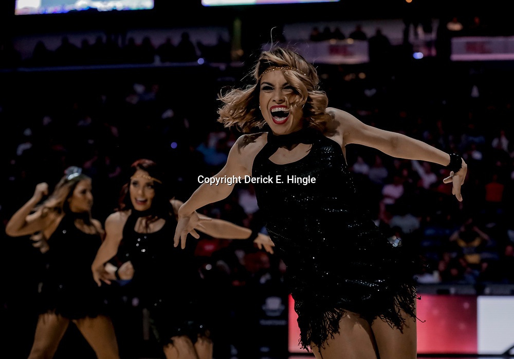 Dec 31, 2018; New Orleans, LA, USA; New Orleans Pelicans dance team performs during the second half against the Minnesota Timberwolves at the Smoothie King Center. Mandatory Credit: Derick E. Hingle-USA TODAY Sports