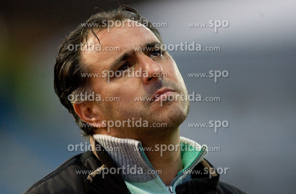 Coach of Domzale Vlado Badzim at football match of 15th Round of Slovenian Prva Liga between NK Domzale vs NK Olimpija, on October 28, 2009, in Sports park Domzale, Domzale, Slovenia.   (Photo by Vid Ponikvar / Sportida)