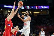 Luigi Datome<br /> Nazionale Italiana Maschile Senior<br /> Eurobasket 2017 - Final Phase - 1/4 Finals<br /> Italia Serbia Italy Serbia<br /> FIP 2017<br /> Istanbul, 13/09/2017<br /> Foto M.Ceretti / Ciamillo - Castoria