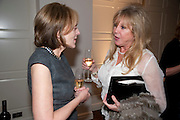 MELISSA WYNDHAM; PATTI BOYD, Book launch party for the paperback of Nicky Haslam's book 'Sheer Opulence', at The Westbury Hotel. London. 21 April 2010