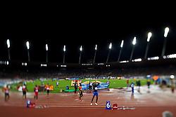 30.08.2012, Stadion Letzigrund, Zuerich, SUI, Leichtathletik, Weltklasse Zurich 2012, im Bild, Sieger Usain Bolt (JAM), 200m Maenner // during Athletics World Class Zurich 2012 at Letzigrund Stadium, Zurich, Switzerland on 2012/08/30. EXPA Pictures © 2012, PhotoCredit: EXPA/ Freshfocus/ Andy Mueller..***** ATTENTION - for AUT, SLO, CRO, SRB, BIH only *****