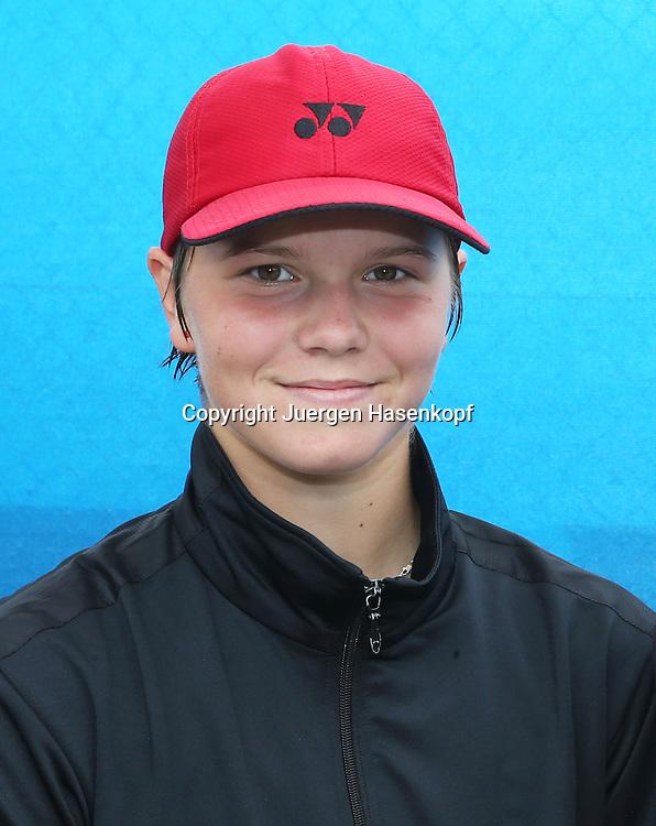 Nuernberger Versicherungscup 2013,WTA Tennis Tournament, Katharina Gerlach(GER),Einzelbild,Halbkoerper,Hochformat,Portrait,