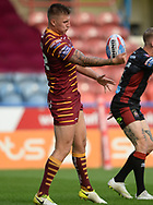 Alex Mellor of Huddersfield Giants celebrates scoring during the Betfred Super League match at the John Smiths Stadium, Huddersfield<br /> Picture by Richard Land/Focus Images Ltd +44 7713 507003<br /> 12/07/2018