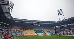 01.03.2014, Weserstadion, Bremen, GER, 1. FBL, SV Werder Bremen vs Hamburger SV, 23. Runde, im Bild die Choreografie der Werder-Fans, der Ostkurve // die Choreografie der Werder-Fans, der Ostkurve during the German Bundesliga 23th round match between SV Werder Bremen and Hamburger SV at the Weserstadion in Bremen, Germany on 2014/03/02. EXPA Pictures © 2014, PhotoCredit: EXPA/ Andreas Gumz<br /> <br /> *****ATTENTION - OUT of GER*****