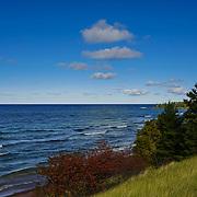 """""""Lake Superior Near Eagle Harbor""""<br /> <br /> Beautiful Lake Superior in early autumn on Keweenah Peninsula near Eagle Harbor."""