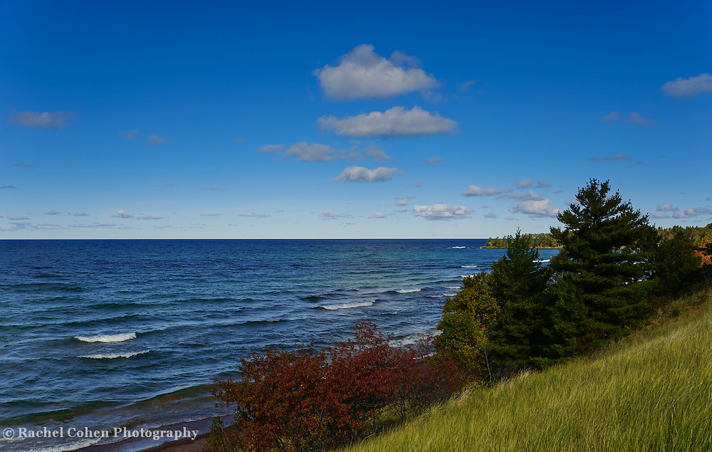 &quot;Lake Superior Near Eagle Harbor&quot;<br />