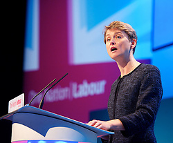 Labour Party Annual Conference 2013. <br /> Yvette Cooper MP speech during the Labour Party Annual Conference 2013, Brighton, United Kingdom. Wednesday, 25th September 2013. Picture by Elliot Franks / i-Images