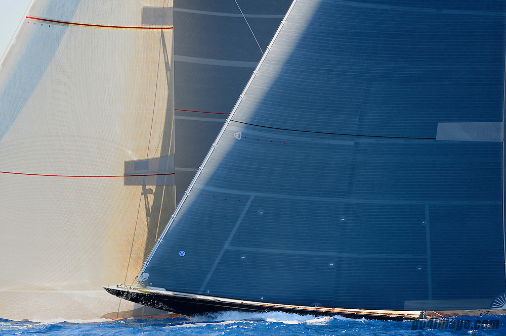 On May the 15th 1934, the William Starling Burgess Design J Class Rainbow was launched at the Herreshoff Yard in Bristol, Rhode Island, USA. She was built to defend the America&rsquo;s Cup against &ldquo;Endeavour&rdquo; in 1934. The first 2 races were tough for Rainbow but the last 4 races she beat the Challenger Endeavour. Owner Vanderbilt laid Rainbow up in a dry dock and then refitted her. In 1937 she was sold to Chandler Hovey and contended for Defence of the Cup. Sadly for her, Ranger won and became the new defender for the next Cup. In 1940 Rainbow was sold for scrap.<br />  Loa: 39.96 m<br /> Beam: 6.37 m<br /> Draught: 4.8 m<br /> Manufacturer: Holland Jachtbouw<br /> Construction: Aluminium