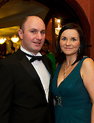 At the SCSI, (Society of Chartered Surveyors Ireland) - Western Region Annual Dinner 2016 in the Ardilaun Hotel Galway were Michael and Elaine Flatley  Waldron And Assoc Claremorris Photo:Andrew Downes, xpousre