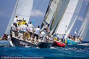 Yani sailing Race 4 at Antigua Sailing Week.