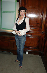 Actress PATSY PALMER at Reach 4 Fashion 2005 in aid of the REACH Leukaemia Appeal hosted by designers Sadie Frost and Jemima French of fashion label FrostFrench held at 88 St.James' Street, London SW1 on 8th November 2005.<br />