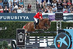 Bucci Piergiorgio, (ITA), Catwalk Z <br /> First Round<br /> Furusiyya FEI Nations Cup Jumping Final - Barcelona 2015<br /> © Dirk Caremans<br /> 24/09/15