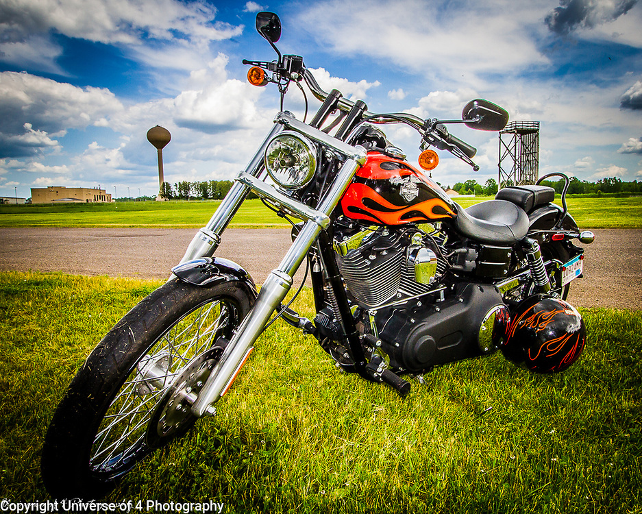 A Harley in HD