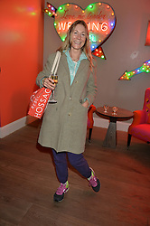A party to celebrate the publication of renowned international fashion designer and icon Collette Dinnigan's book Obsessive Creative was held at the Ham Yard Hotel, One Ham Yard, London on 16th February 2015.<br /> Picture Shows:-REBECCA HOSSACK.