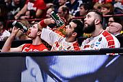 Zoran Dragic, Krunoslav Simon, Miroslav Raduljica<br /> EA7 Emporio Armani Olimpia Milano - Dinamo Banco di Sardegna Sassari<br /> LegaBasket Serie A 2016/2017<br /> Milano 13/11/2016<br /> Foto Ciamillo-Castoria
