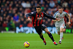 BOURNEMOUTH, ENGLAND - Saturday, December 8, 2018: AFC Bournemouth's Joshua King during the FA Premier League match between AFC Bournemouth and Liverpool FC at the Vitality Stadium. (Pic by David Rawcliffe/Propaganda)