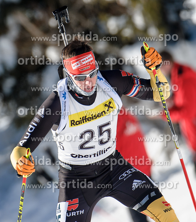 26.01.2013, Biathlonzentrum, Obertilliach AUT, IBU, Jugend und Junioren Weltmeisterschaften, Sprint Junioren Maenner, im Bild Korbinian Raschke (GER) // Korbinian Raschke from Germany during the Junior Men Sprint of IBU Youth  and Juniors World Championships at Biathloncenter, Obertilliach, Austria on 2013/01/26 . EXPA Pictures © 2013, PhotoCredit: EXPA/ Michael Gruber