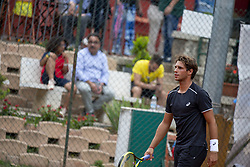 June 22, 2018 - L'Aquila, Italy - Filippo Baldi  during match between Filippo Baldi (ITA) and Paolo Lorenzi (ITA) during day 7 at the Internazionali di Tennis Citt dell'Aquila (ATP Challenger L'Aquila) in L'Aquila, Italy, on June 22, 2018. (Credit Image: © Manuel Romano/NurPhoto via ZUMA Press)