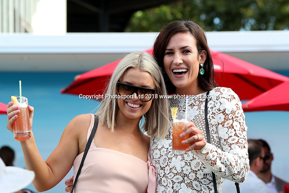 Spectators at Auckland Cup Day, Ellerslie Racecourse, Auckland, New Zealand, Saturday, March 10, 2018. Copyright photo: David Rowland / www.photosport.nz