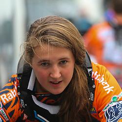 Sportfoto archief 2012<br /> Laura Smulders nomineerde zich met een finale plaats op de WC BMX  SX voor de Olympische Spelen in London