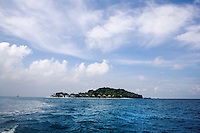Departing Nikoi Island, in the Riau Archipelago, of Indonesia, on Sunday, April 18, 2010. The private island resort is owned by a group expatriates from Singapore and the United States.