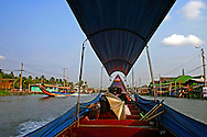 Chao Phrya River Longtail Boat Ride - In Bangkok, the Chao Phraya is a major transportation artery for a vast network of ferries and water taxis, also known as longtails. More than 15 boat lines operate on the river and canals of the city, including commuter ferry lines.