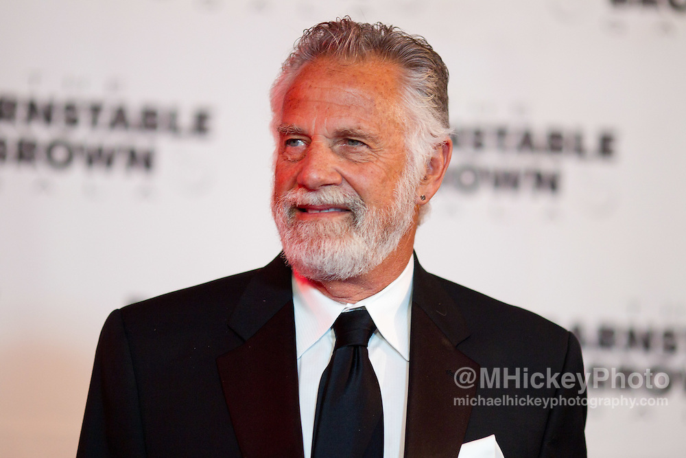 Jonathan Goldsmith attends the Barnstable Brown Gala in Louisville, Kentucky on May 6, 2011.