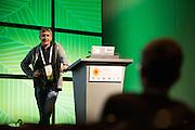 The Linux Foundation hosts its Open Daylight Summit 2015 at the Santa Clara Convention Center in Santa Clara, California, on July 29, 2015. (Stan Olszewski/SOSKIphoto)