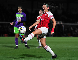 March 14, 2019 - Borehamwood, Hertfordshire, United Kingdom - BOREHAMWOOD, ENGLAND - MARCH 14: Katie McCabe of Arsenal taking the ball during the FA Women's Super League football match between Arsenal Women and Bristol City Women at Meadow Park on March 14, 2019 in Borehamwood, England. (Credit Image: © Action Foto Sport/NurPhoto via ZUMA Press)