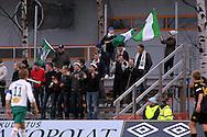 01.05.2010, Tapiolan Urheilupuisto, Espoo..Veikkausliiga 2010, FC Honka - IFK Mariehamn..IFK:n kannattajat katsomossa..©Juha Tamminen.