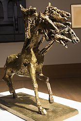 Bonhams, Mayfair, London. Germaine Richier's Le cheval à six têtes, grand to be auctioned at Bonhams post-war and Contemporary art sale.///FOR LICENCING CONTACT: paul@pauldaveycreative.co.uk TEL:+44 (0) 7966 016 296 or +44 (0) 20 8969 6875. ©2015 Paul R Davey. All rights reserved.
