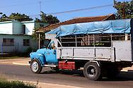Truck in Jaruco, Mayabeque, Cuba.