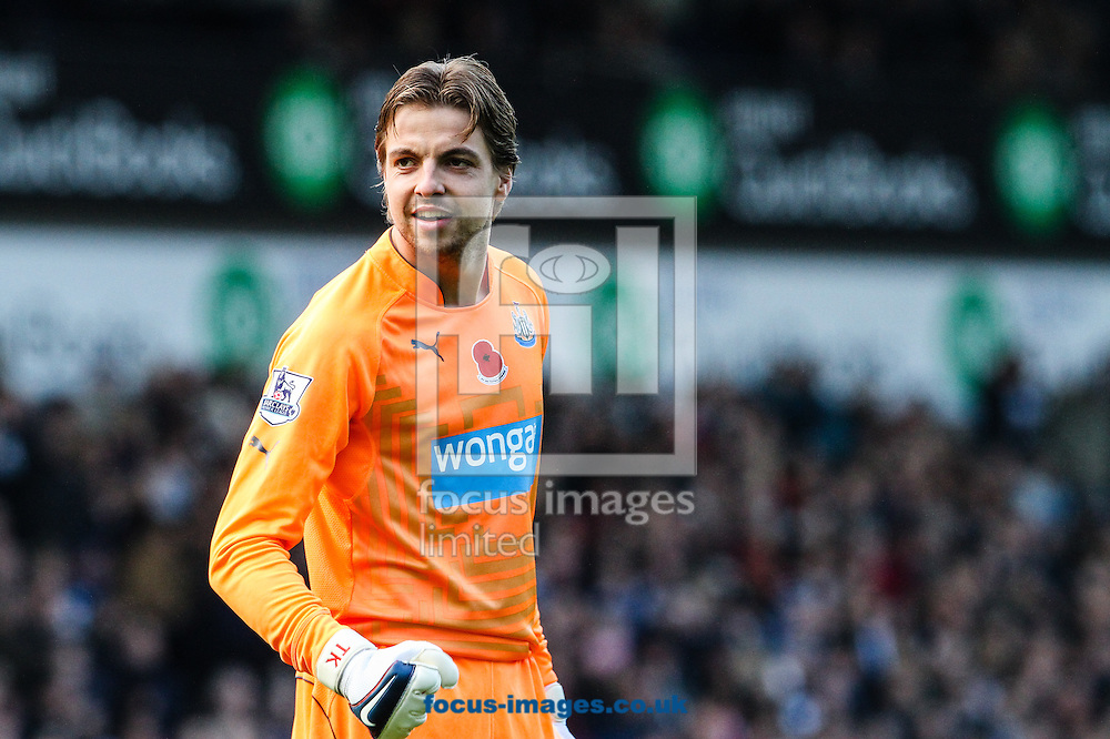 Tim Krul of Newcastle United during the Barclays Premier League match at The Hawthorns, West Bromwich<br /> Picture by Andy Kearns/Focus Images Ltd 0781 864 4264<br /> 09/11/2014