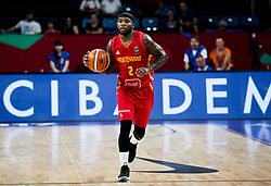 Tyrese Rice of Montenegro during basketball match between National Teams of Latvia and Montenegro at Day 11 in Round of 16 of the FIBA EuroBasket 2017 at Sinan Erdem Dome in Istanbul, Turkey on September 10, 2017. Photo by Vid Ponikvar / Sportida