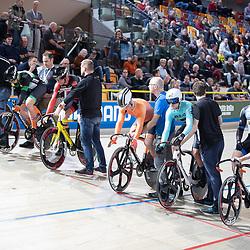 30-12-2018: Wielrennen: NK Baan: Apeldoorn<br />Keirin serie met o.a. Roy van den Berg en Harry Lavreijssen