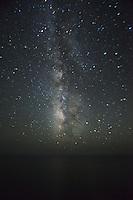 Milky Way Over Pacific Ocean, Big Sur, California