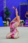 Mailat Denisa is an individual rhythmic gymnast from Romania born in Bucharest in 2002.