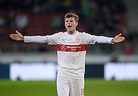 Fussball  1. Bundesliga  Saison 2013/2014  13. Spieltag VfB Stuttgart - Borussia Moenchengladbach     22.11.2013 Timo Werner (VfB Stuttgart) emotional