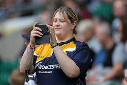 Worcester Warriors fans - Rogan Thomson/JMP - 03/09/2016 - RUGBY UNION - Twickenham Stadium - London, England - Saracens v Worcester Warriors - Aviva Premiership London Double Header.