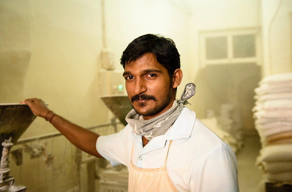 Murugan, age 26, works at the Malacca Electric Flour Mill in Malacca, Malaysia. Murugan is originally from India and has worked at the mill for four years.