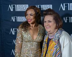 Precious Moloi-Motsepe (Africa Fashion International) and Suzy Menkes (Vogue International ED)